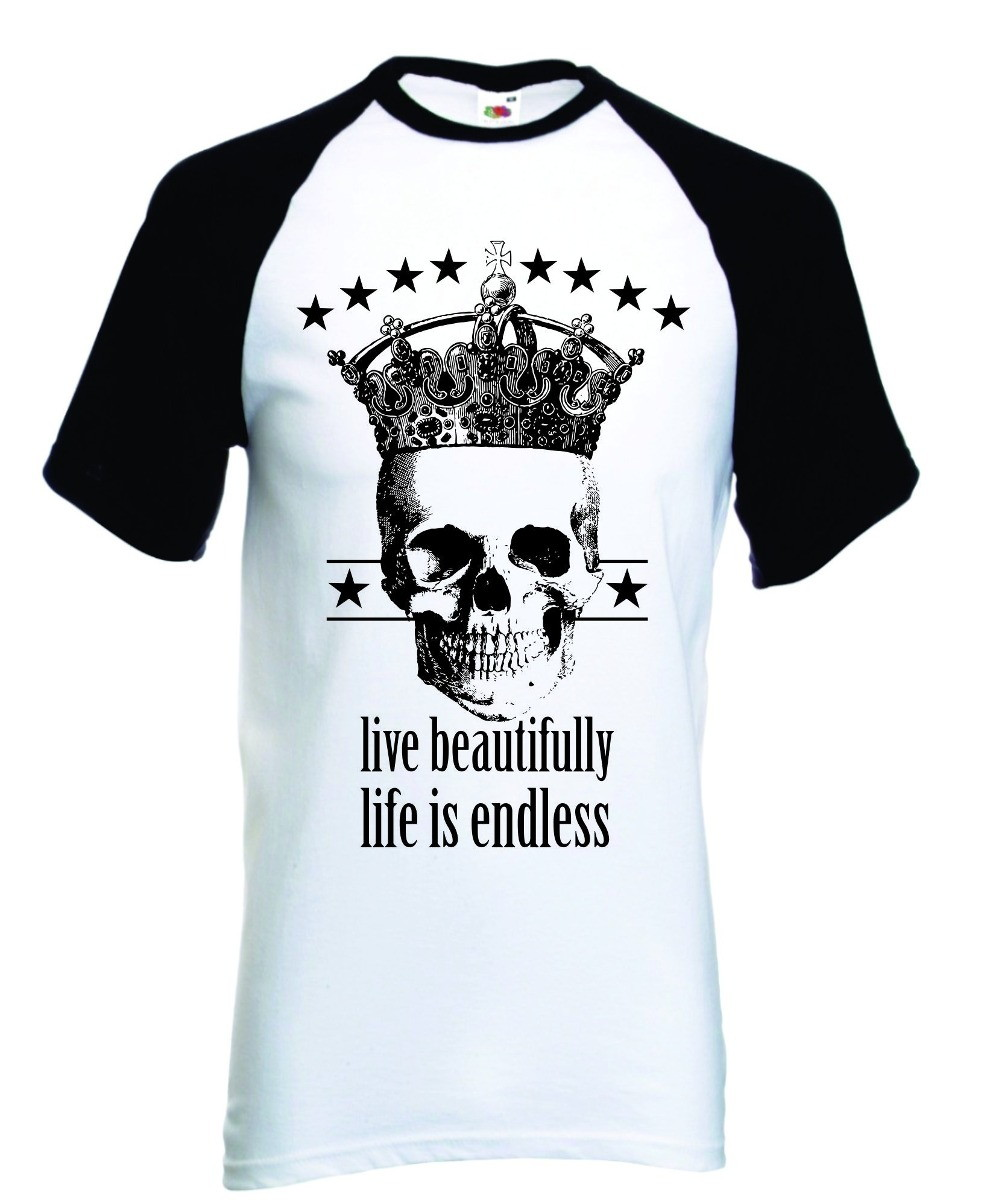 Camiseta Caveira Beautifully Swag Dope R no Elo7  64c316ff262a7