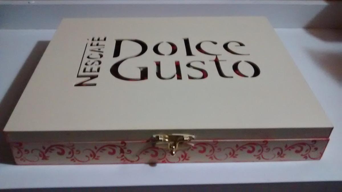 Caixa para capsulas de cafe dolce gusto no elo7 nathalia for Proyectos en mdf