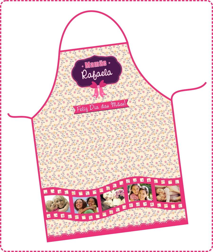 b87157e2e Avental Dia das Mães - FRETE GRÁTIS no Elo7 | DigiArt Kids (699CE1)