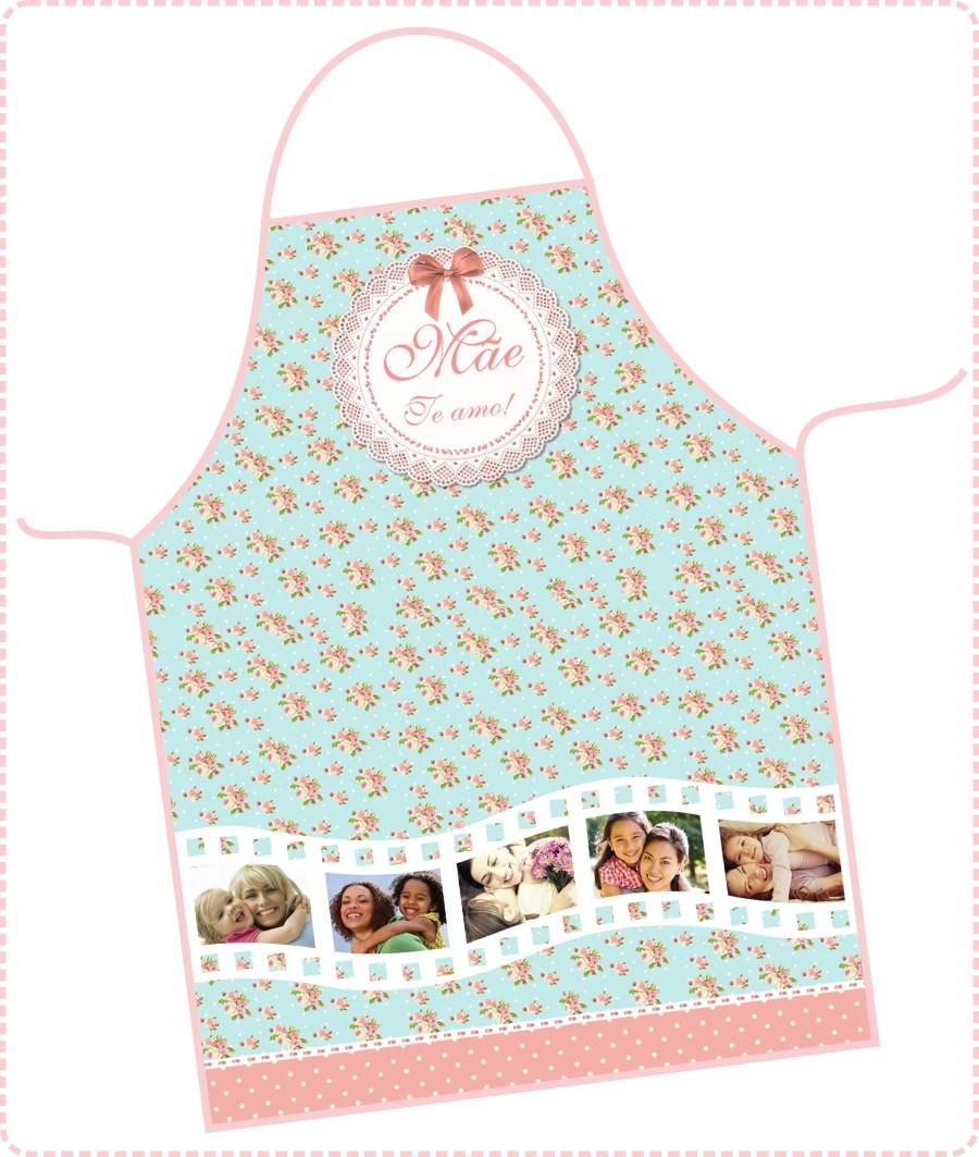 7e221aba3 Avental Dia das Mães - FRETE GRÁTIS no Elo7 | DigiArt Kids (699CF2)