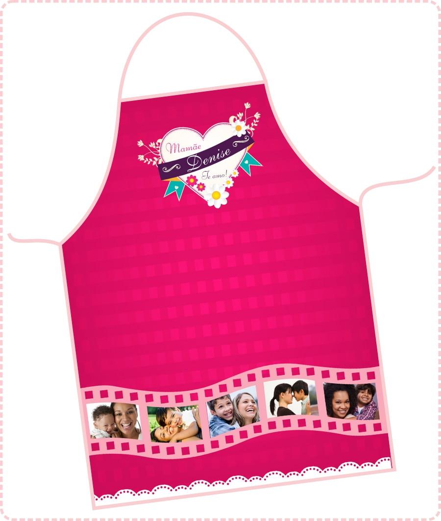 2cebb9977 Avental Dia das Mães - FRETE GRÁTIS no Elo7 | DigiArt Kids (699D04)