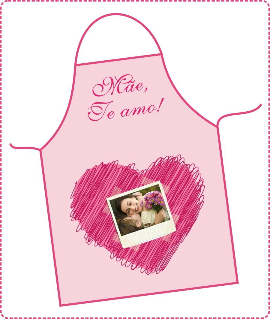 27f1c99c5 Avental Dia das Mães - FRETE GRÁTIS no Elo7 | DigiArt Kids (699D10)