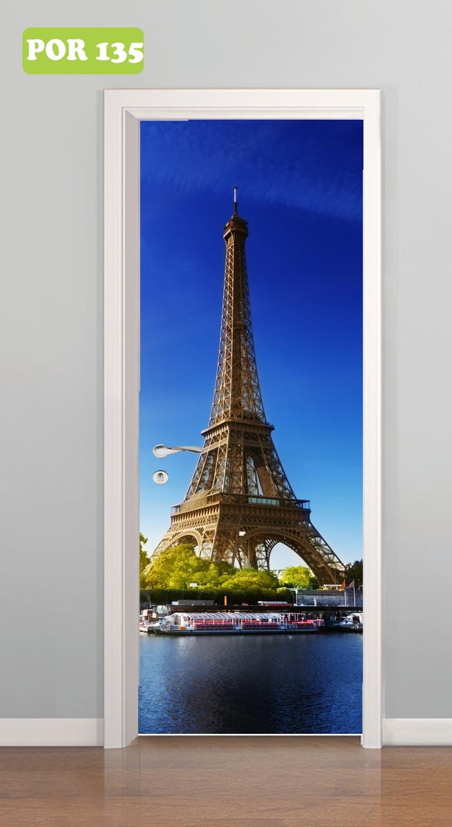 Curso Artesanato Goiania ~ Adesivo de Porta Paris Torre Eiffel Central do Adesivo Elo7