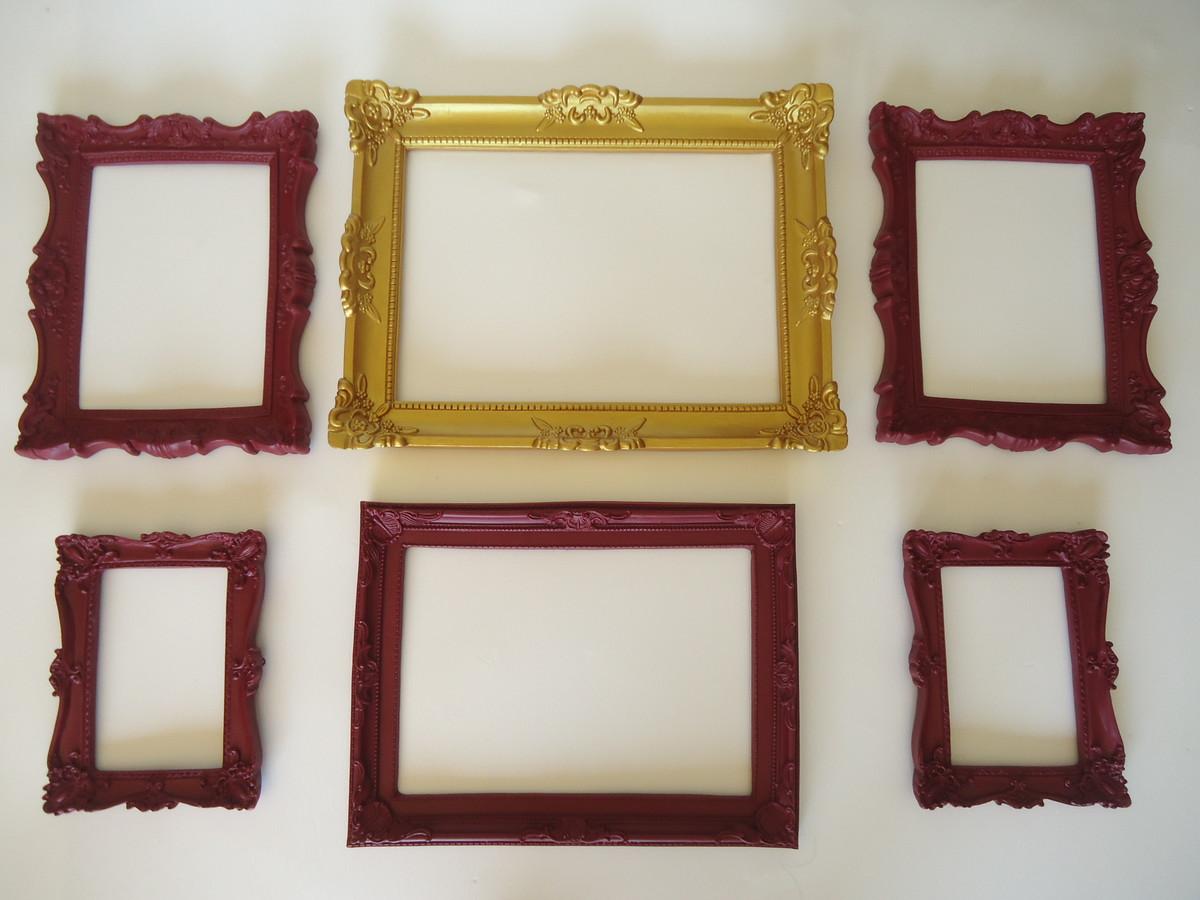 kit provence porta retratos parede no elo7 fuxicando arte em tecido 6a3ad2. Black Bedroom Furniture Sets. Home Design Ideas