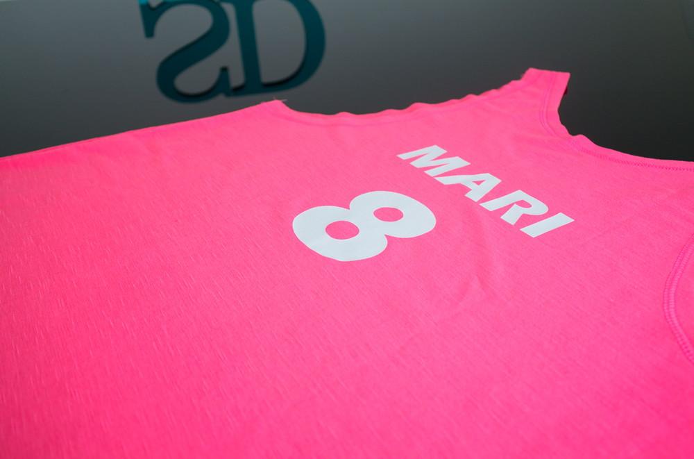 Regata Camiseta Rosa Tem Bride no Elo7  0623dc3b697