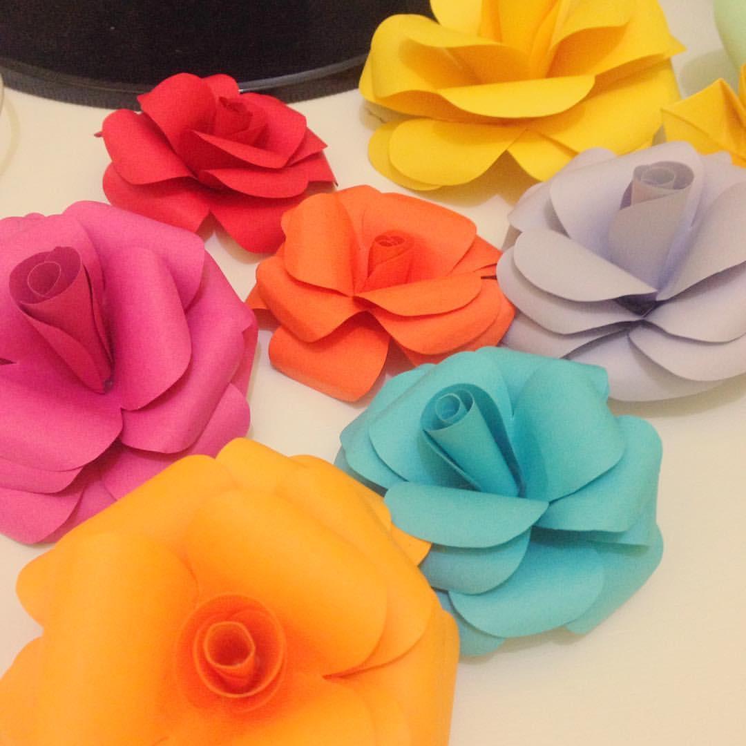 FLORES de Papel para Decoraç u00e3o no Elo7 Lotus Origami (6A5CF3) # Decoração De Flores De Papel Para Aniversario