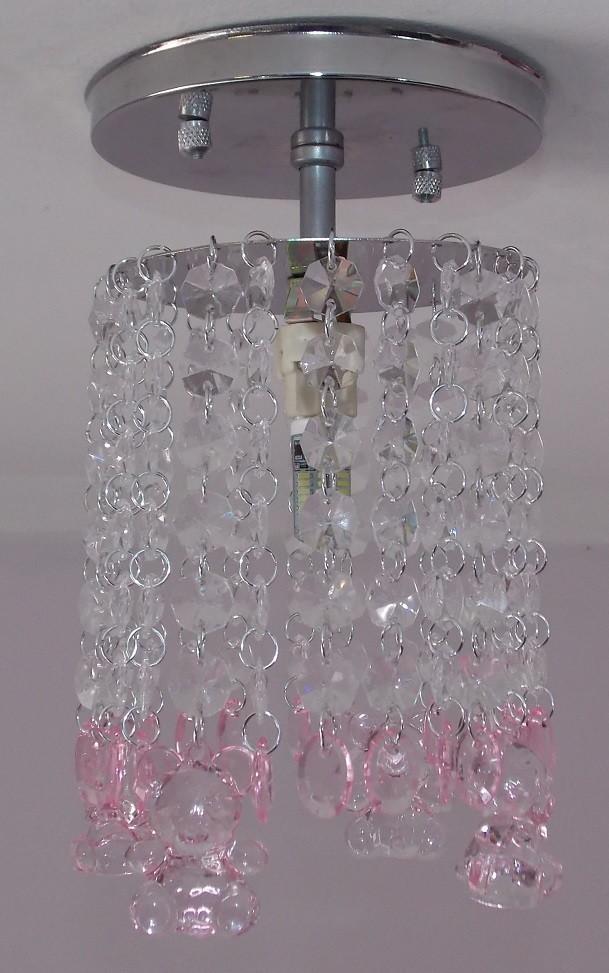 lustre infantil beb cristal urso menina lustres sh. Black Bedroom Furniture Sets. Home Design Ideas