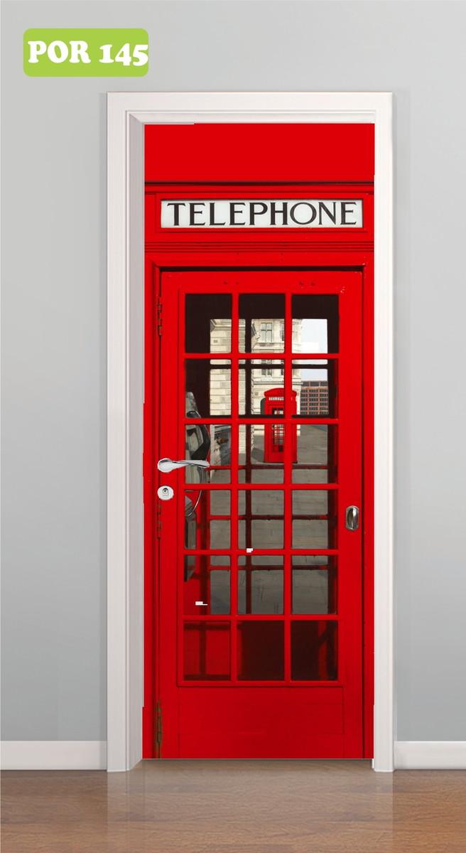 f7f692c4f Armario Para Cozinha Planejado ~ Adesivo de Porta Cabine Telefone Londres  Central do Adesivo Elo7