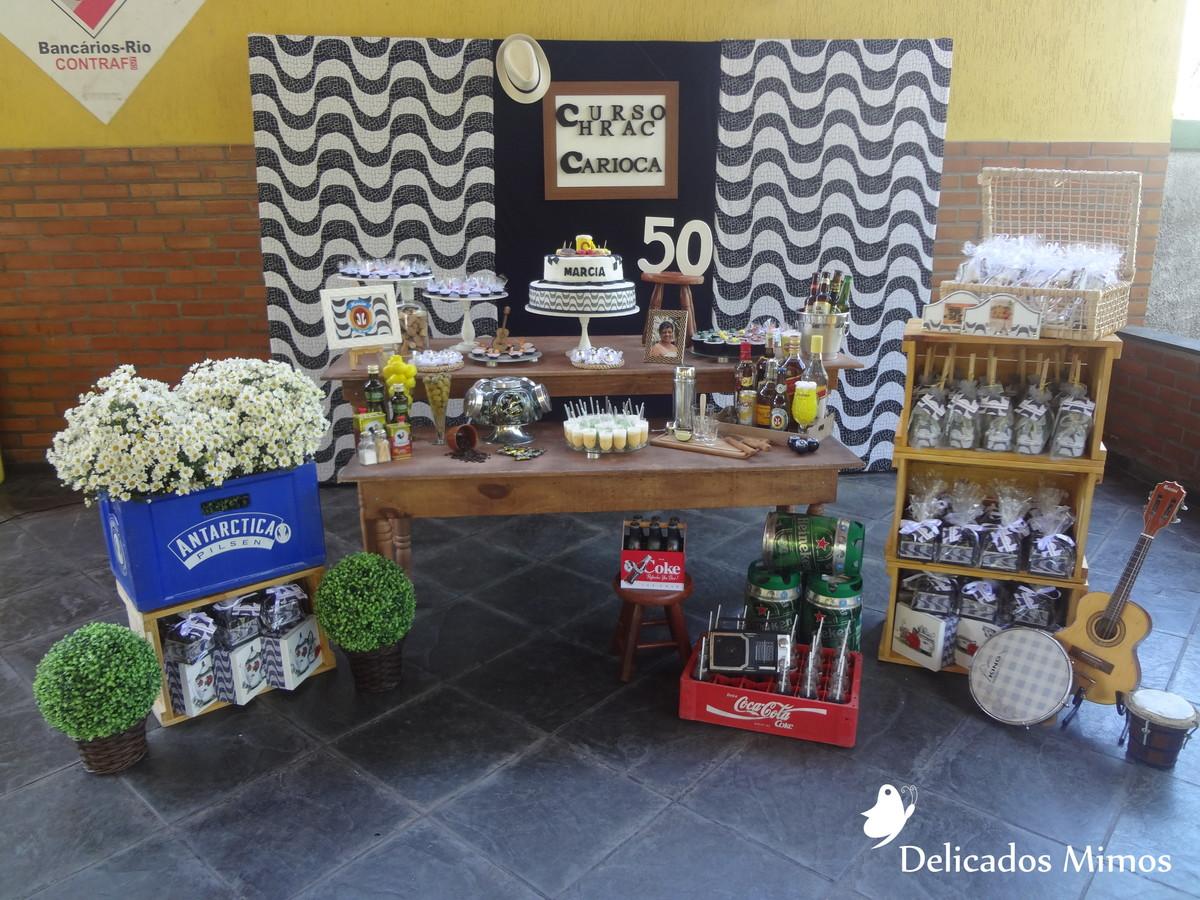Super Decoração Tema Churrasco Carioca no Elo7 | Delicados Mimos RJ (6C2AF6) FW57