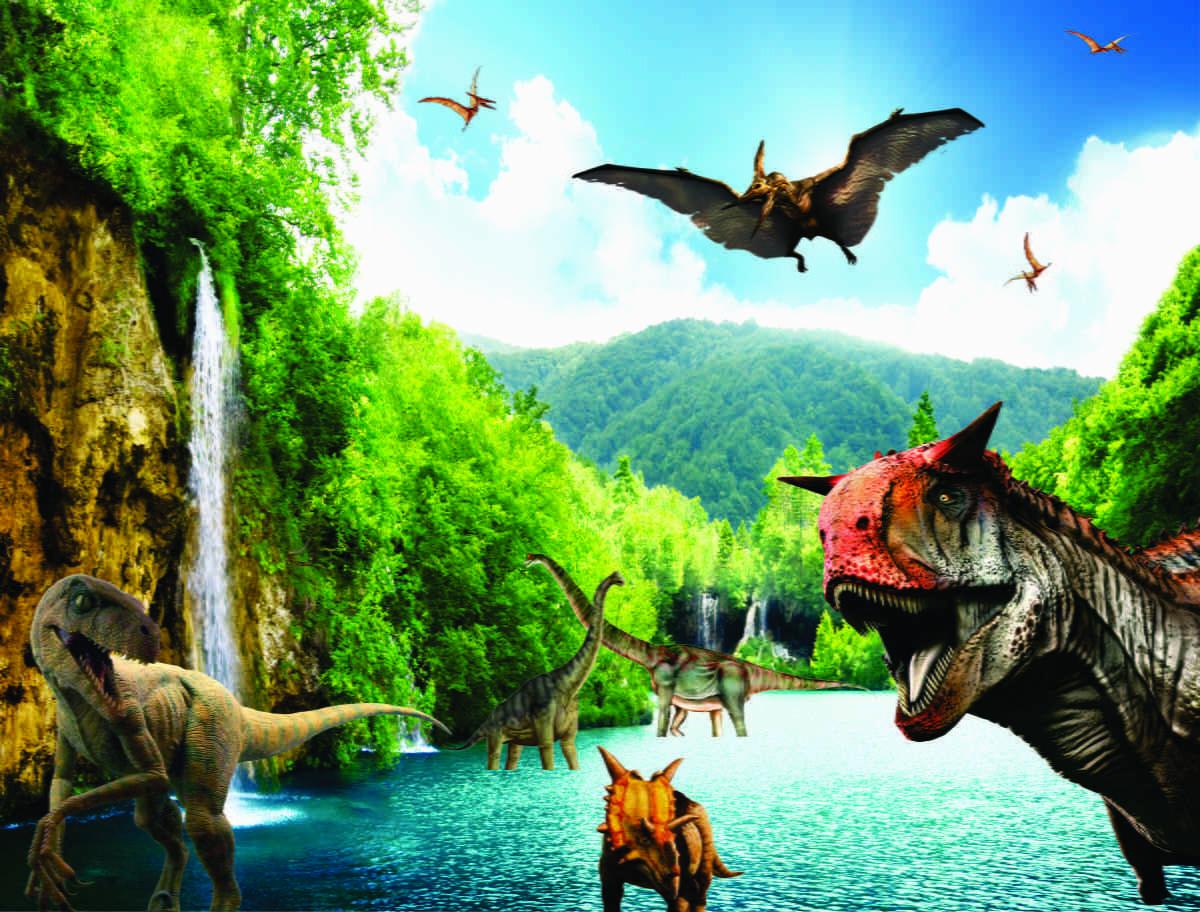 Dinossauros Adesivo Parede 2 00l X 1 50a No Elo7 Central