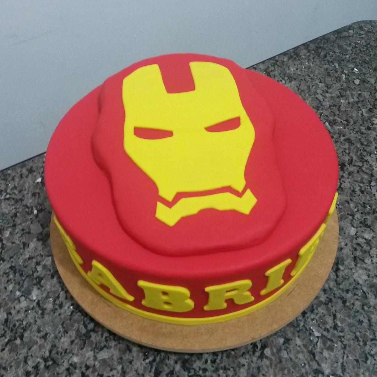 Iron Man Cake Images