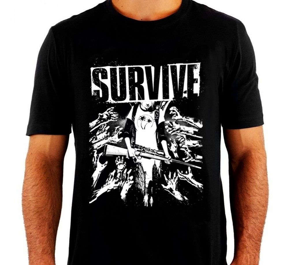 0b842bb4e6139 Camiseta The Last of Us Survive no Elo7   Socialnerd Presentes Geeks ...