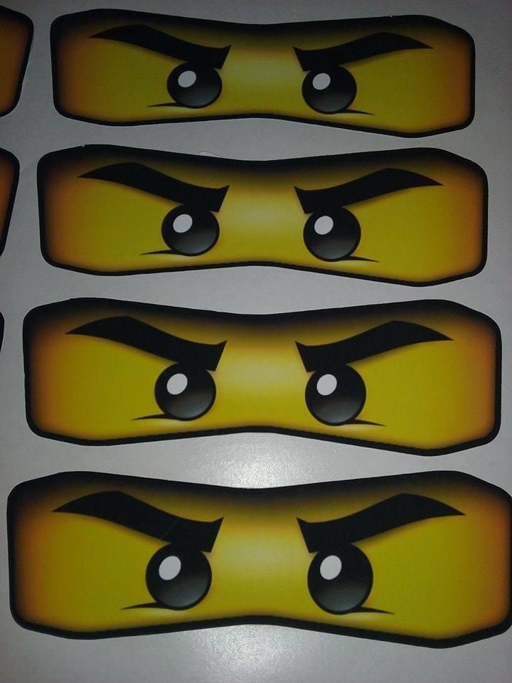 Armario Metal Tok Stok ~ Adesivo olhos máscara Ninjago Mini no Elo7 JU FESTA E ARTE (6D61BA)