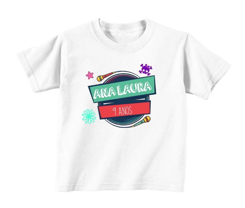 Camiseta Infantil Cúmplices de 1 Resgate no Elo7  3b28b5a959e6d