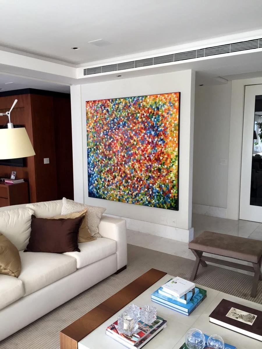 Quadro decora o sala 170x180 cod 994 no elo7 quadros for Pintado de salas pequenas
