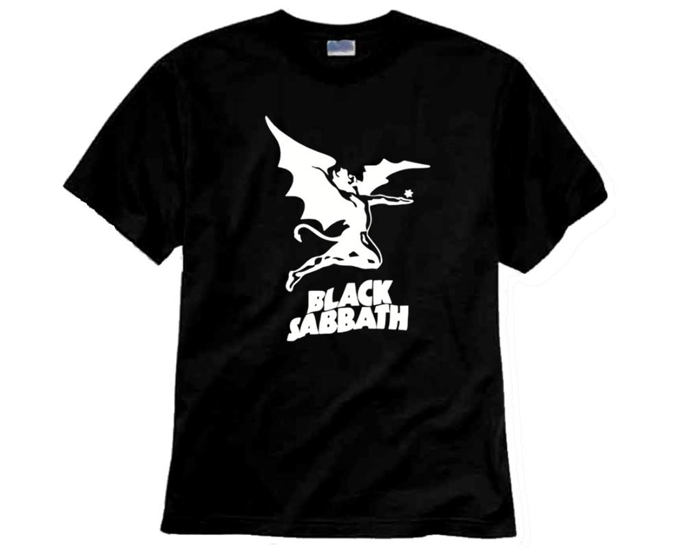 bc21e21658174 Camiseta de Rock Black sabbath logo no Elo7