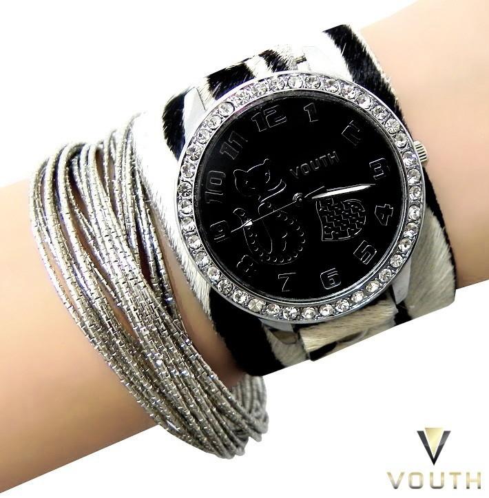 75982a0d8a4 Relógio Feminino De Couro no Elo7
