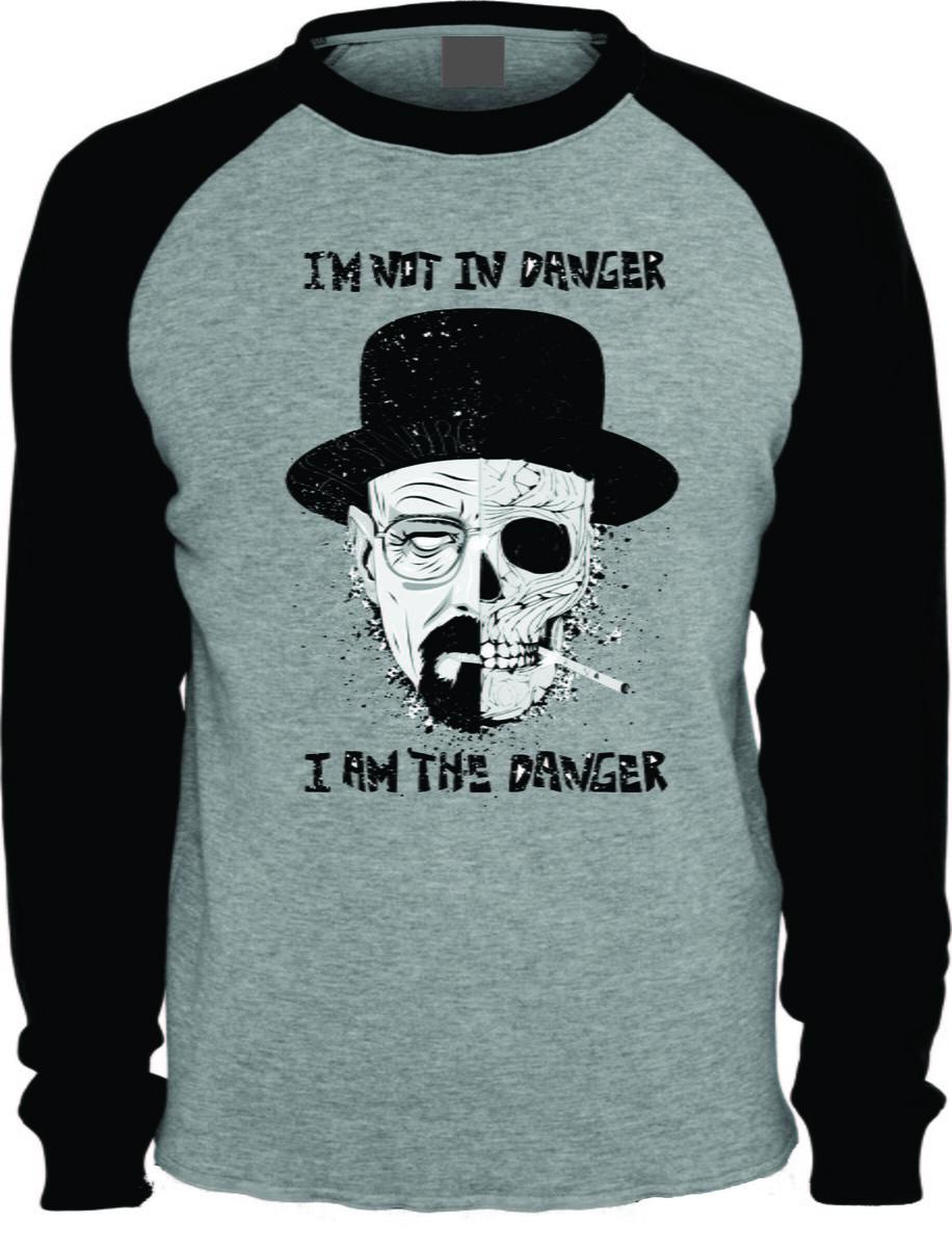 41c4b810174b0 Camiseta Breaking Bad Heisenberg Cinza no Elo7