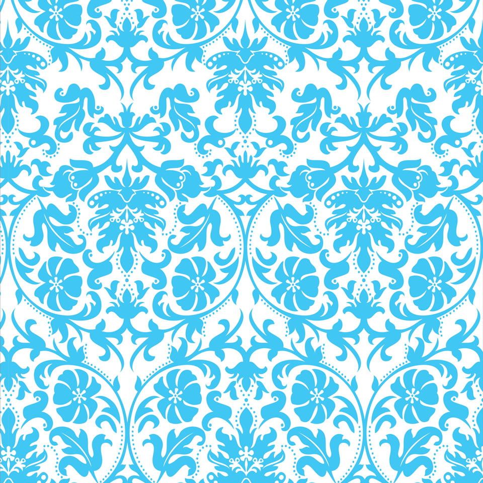 Papel de parede arabesco azul no elo7 jmi decor 6e1aaa for Papel de pared negro