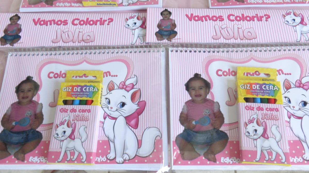Kit De Colorir Gatinha Marie No Elo7 Sonho De Lembranca 6e8645