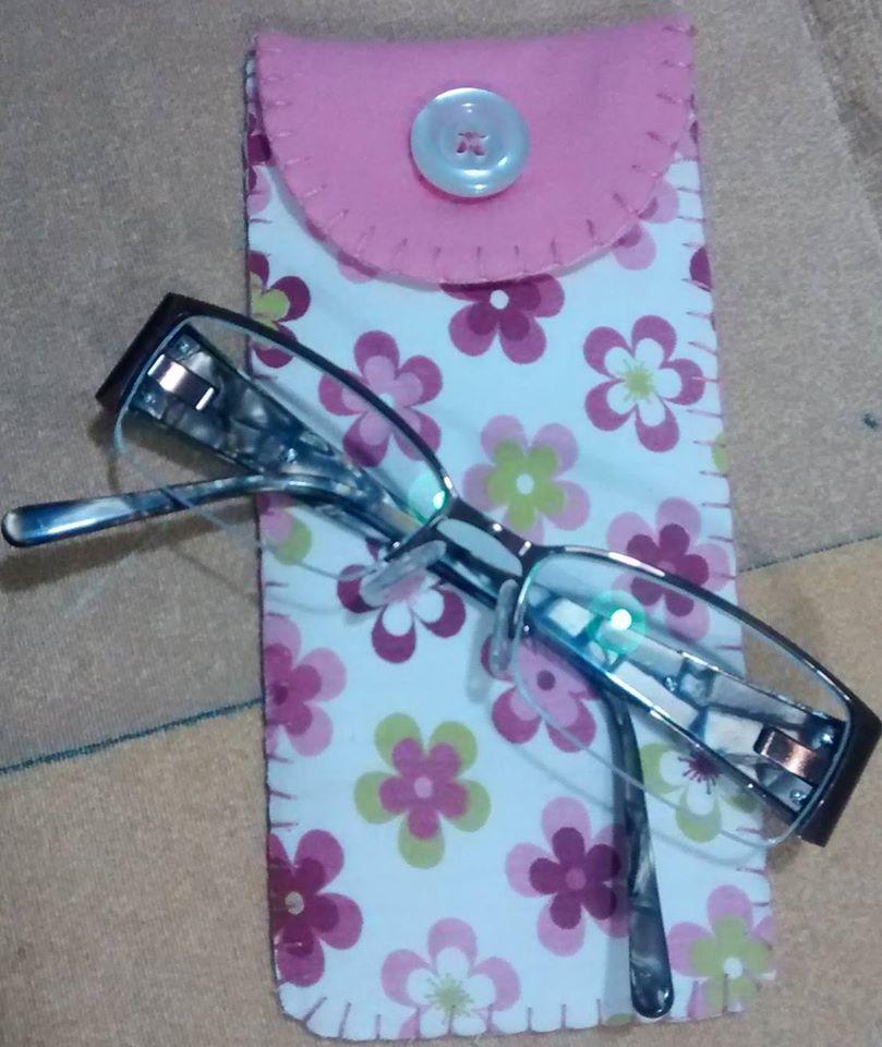 Porta culos feltro no elo7 bossoni presentes for Porta oculos