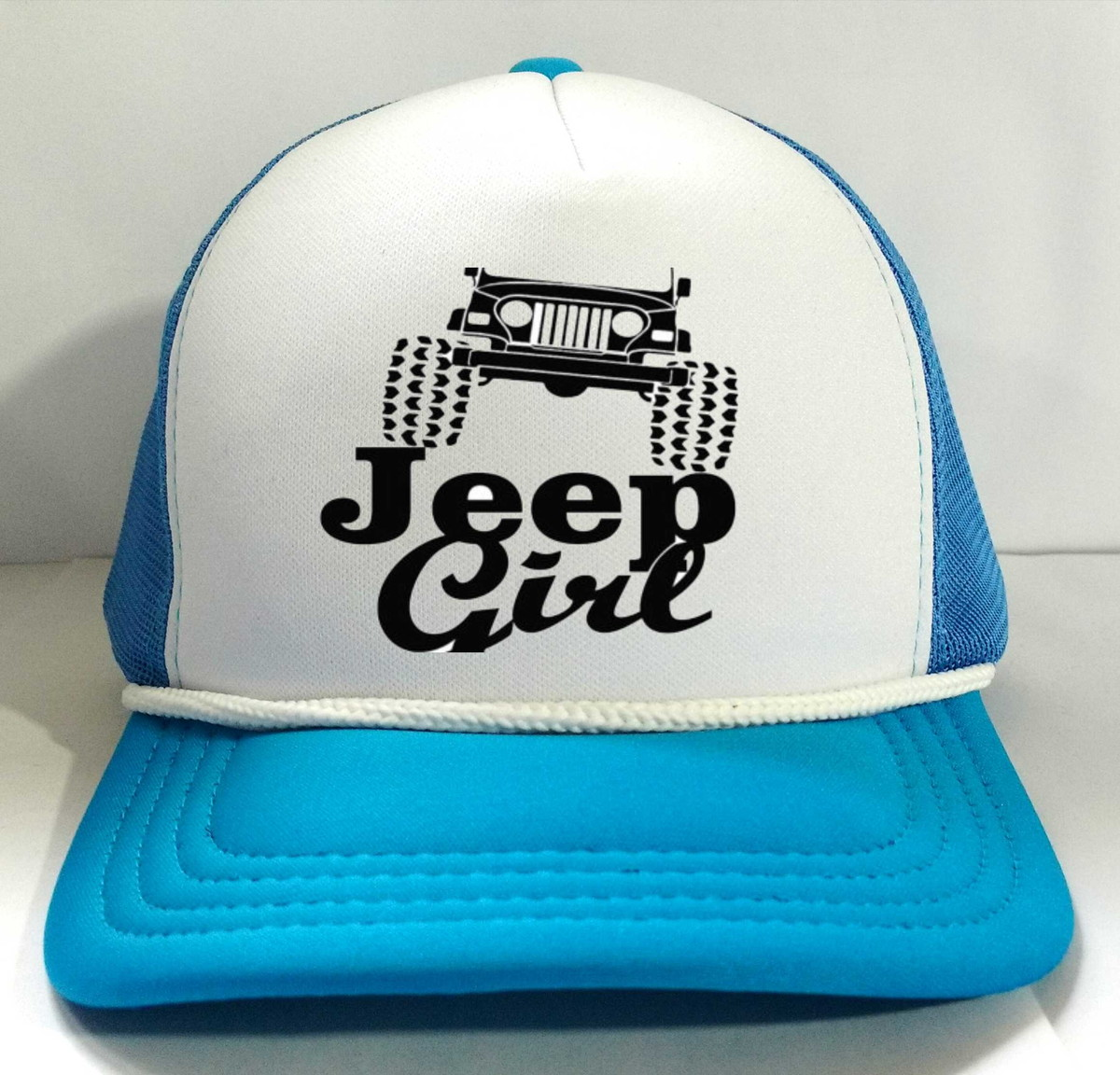 9ca913808431c Boné Trucker Jeep Girl Trilha Radical no Elo7