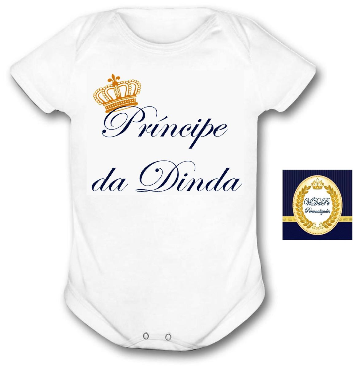 6362dedfef Body Bebê príncipe da dinda no Elo7