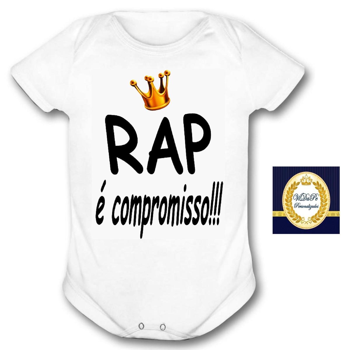 254ae8e444 Body Bebê rap é compromisso no Elo7
