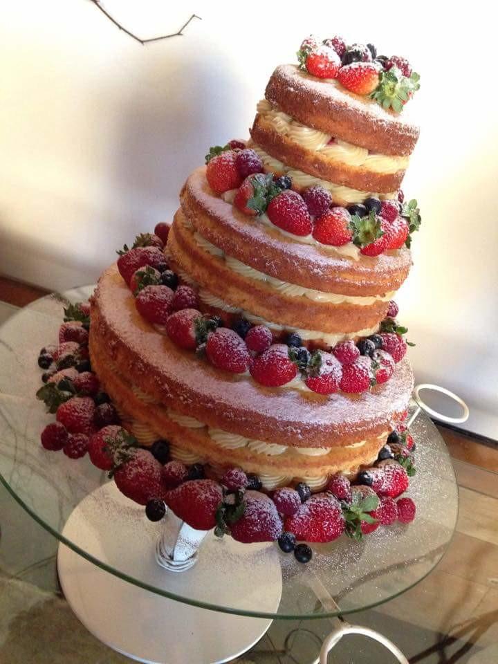 Naked cake no Elo7 | Se eu fosse um cupcake (EF4DF3)