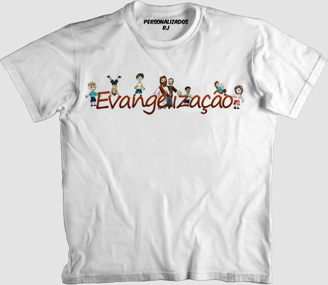 12edc1f91 Camisa EVANGELIZAÇÃO no Elo7