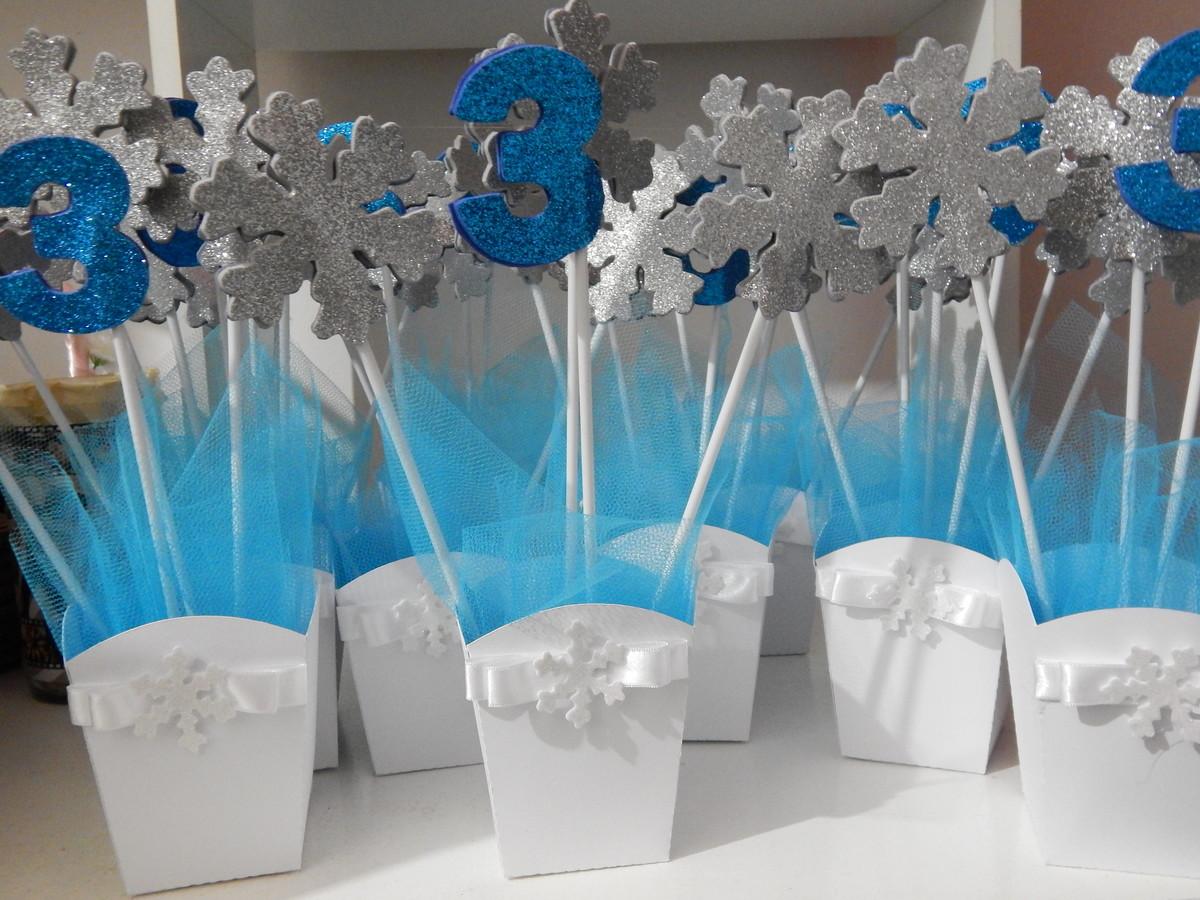 Centro de mesa frozen no elo7 dondokas brindes 6fc164 for Centros de mesa de frozen