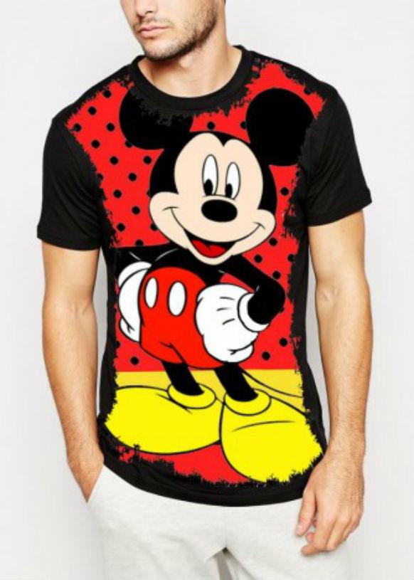 d6160c8570773 Camiseta Mickey Disney Masculina no Elo7