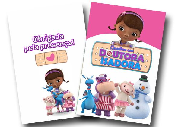 Revista Colorir Doutora Brinquedos 14x10 No Elo7 Tudo De Festa