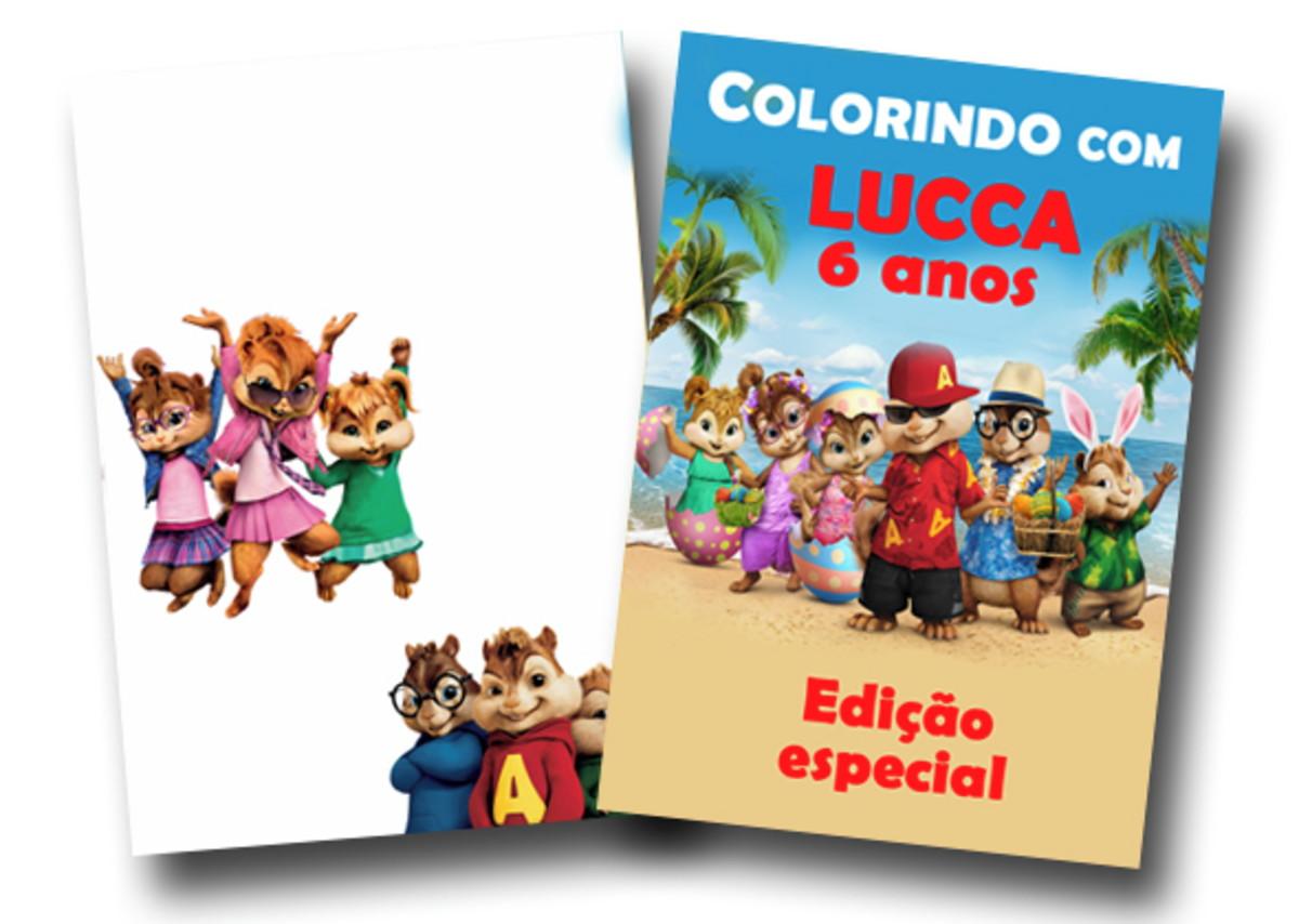 Revista Alvin E Os Esquilos 14x10 No Elo7 Tudo De Festa Galvao