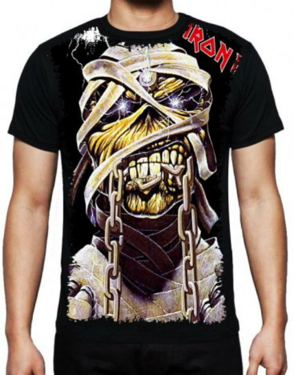 4c8c3dd76f Camiseta Iron Maiden Masculina no Elo7