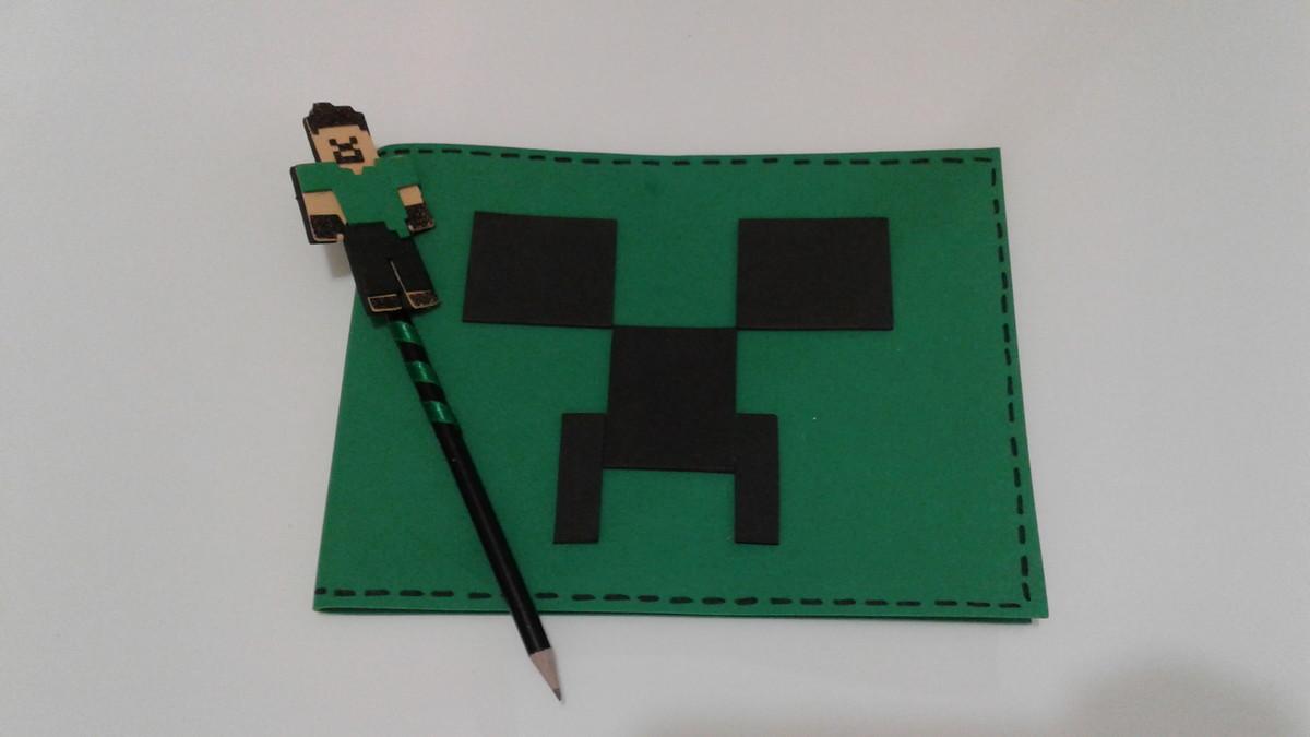 caderno de desenho minecraft no elo7 joão maria 6ef289