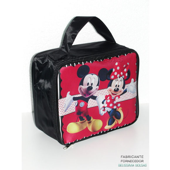 a6bcb540e Maleta Personalizada Mickey Minnie no Elo7 | BELISSIMA BOLSAS (714D25)
