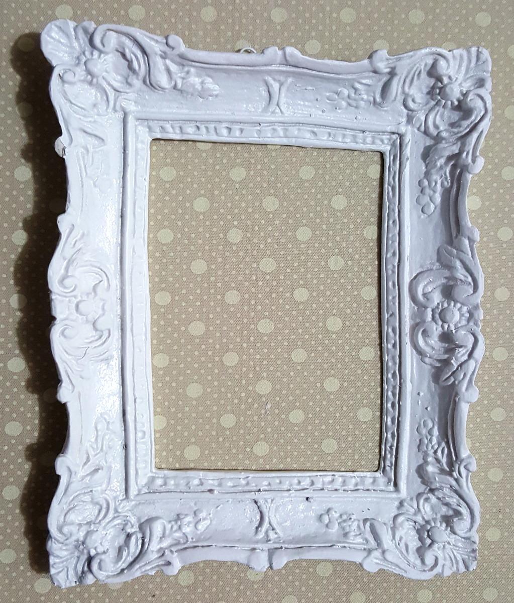 Moldura decorativa em resina branca no elo7 maria for Arcones de resina para exterior