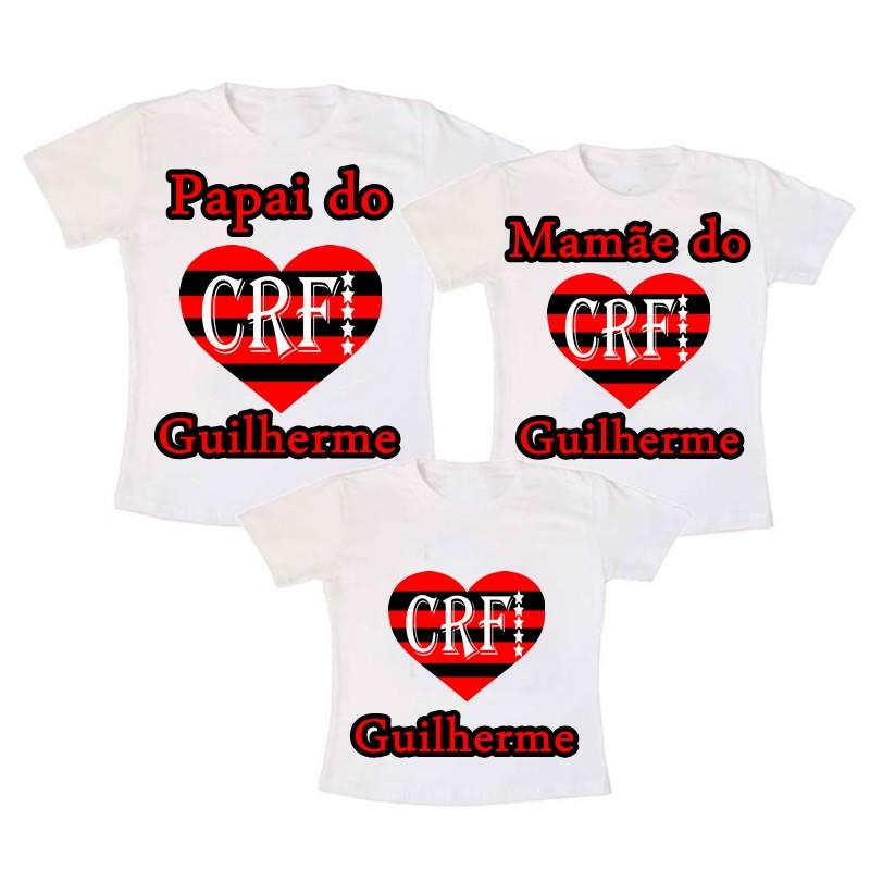 ada316200f Kit 3 Camiseta Aniversario Flamengo no Elo7