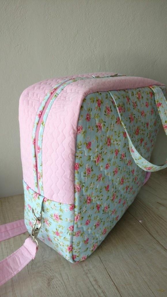 Bolsa De Tecido Bebe : Bolsa maternidade em tecido ateli? nice saes artesanatos