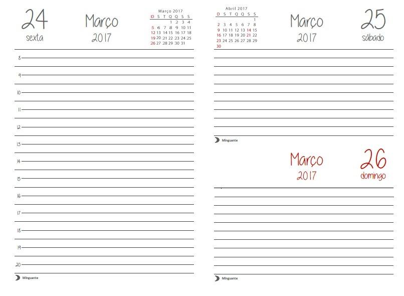 Molto Miolo para agenda diária 2017 (A5) - PDF | Baú da Totoca  EV29