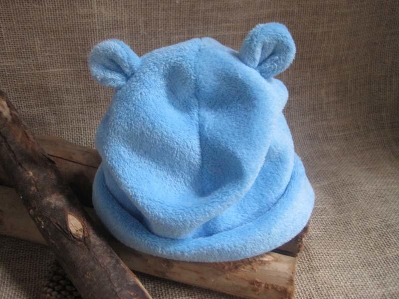 Zoom · Gorro orelha urso Soft azul-3M 88af7fc0796