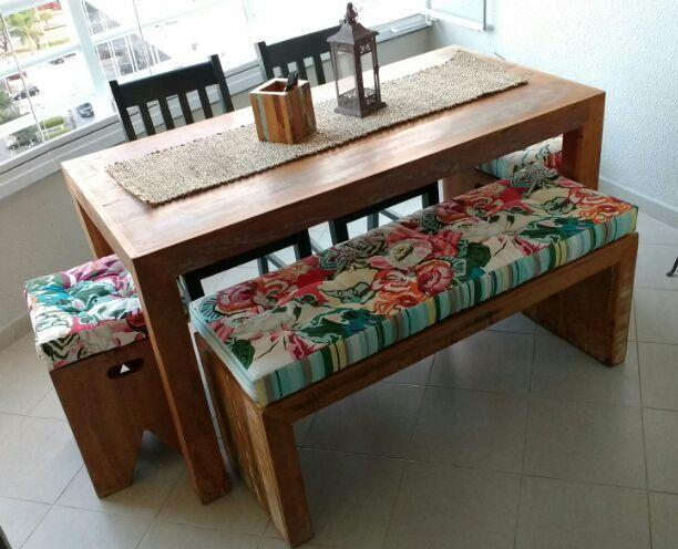 Futon para bancos varandas 2 tecidos atelier for Futon de 2 plazas
