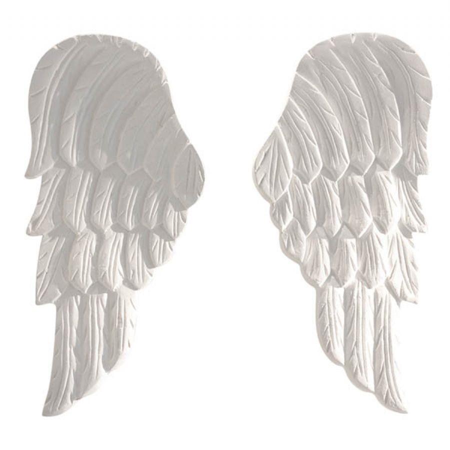Asas de anjo brancas art decor elo7 for Asas interhome decoration