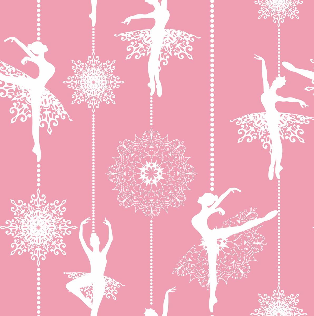 Papel de parede bailarina decor 02 no elo7 crie decore - Papel decorado para paredes ...