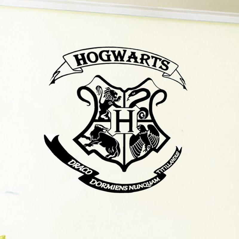 Adesivo Harry Potter Hogwarts No Elo7