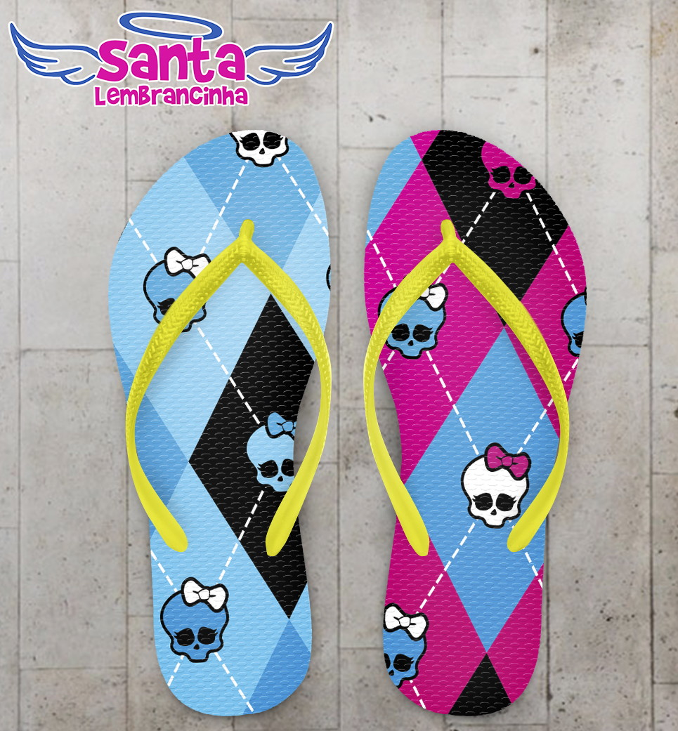 c996b812b Chinelo Monster High Infantil no Elo7 | Santa Lembrancinha (72CACD)