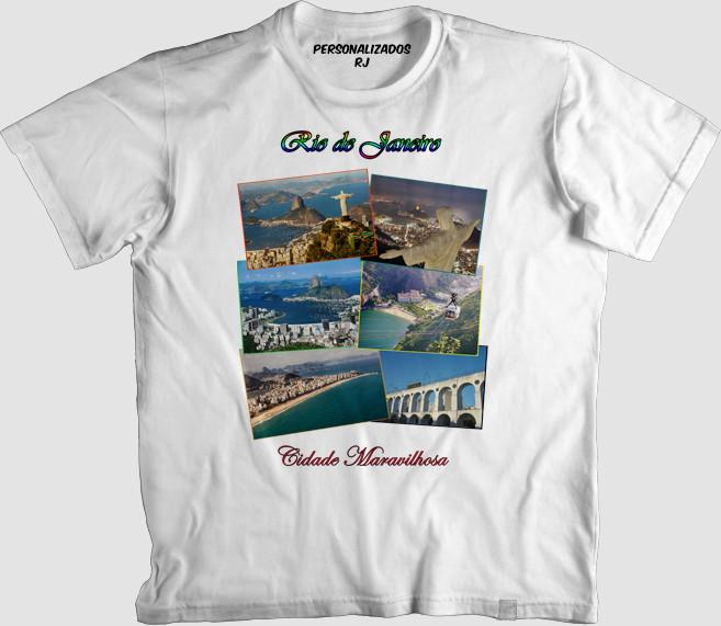 7ff21c2eb Camisa RIO DE JANEIRO 001 no Elo7 | PERSONALIZADOS RJ (72D157)