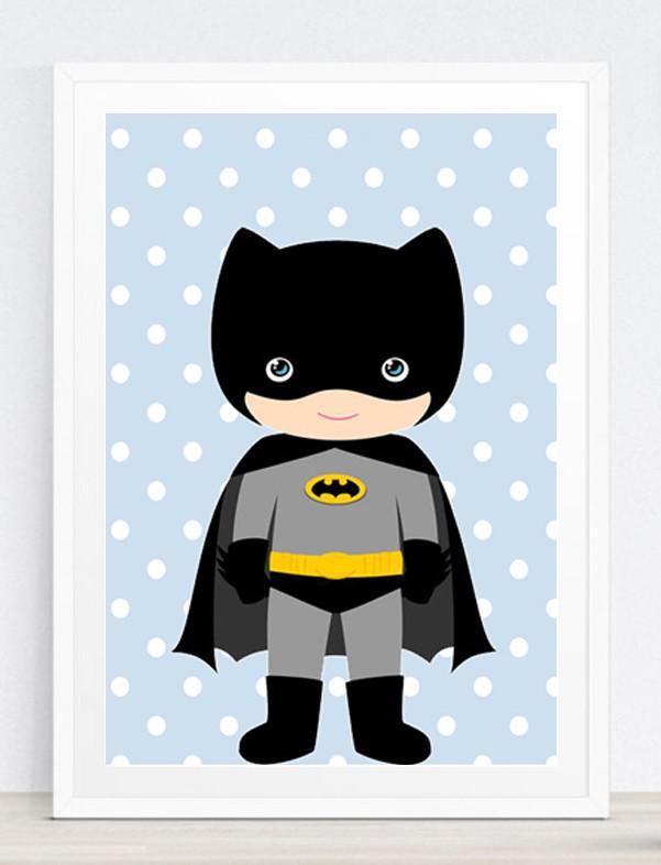 Quadro Decoração Infantil -Batman no Elo7  a6b17b0213a