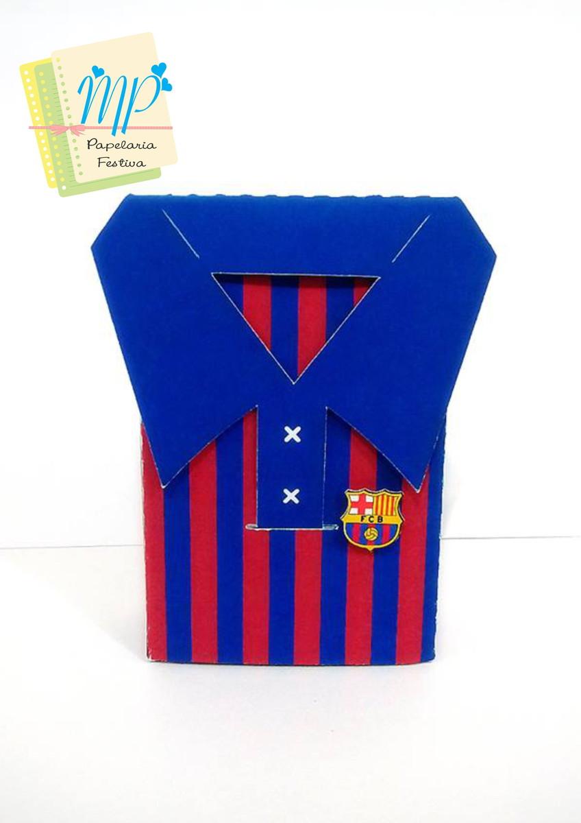 Caixa Camisa Barcelona no Elo7  0c81159040450